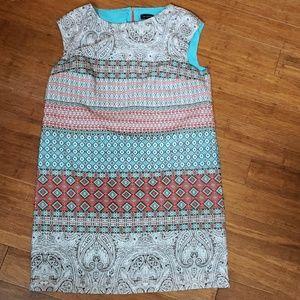 Limited cap sleeve dress